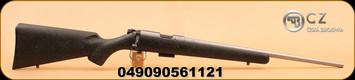 "CZ - 455 - 17HMR - BlkSyn/SS, 20"""