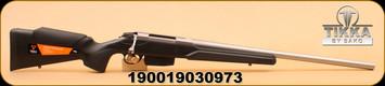 """Tikka - T3X Varmint Heavy Barrel - 6.5x55 SE - BlkSyn/SS, 23.7"""""""
