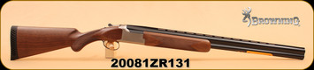 "Browning - Citori White - 12Ga/3.5""/28"", Wd/Satin Ltng Buckmark Logo Silver Receiver"