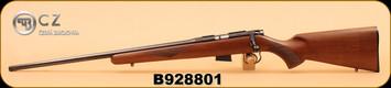 "CZ - 452-2E American - 17HMR - LH, Wd/Bl, 22""- S/N B928801"