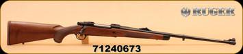 """Ruger - M77 - 6.5x55 - Hawkeye - Wd/Bl, 24"""""""