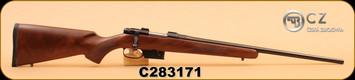 "CZ - 527 - 223Rem - American -  Wd/Bl, 22"""