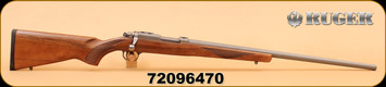 "Ruger - 77/17 - 17WSM - Wd/SS, 24"" - S/N 72096470"