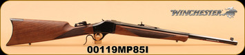 "Winchester - 1885 Limited Series - 405Win - Short Hunter, Wd/Bl, 22"" Octagon Barrel S/N 00119MP85I"