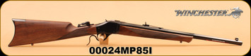 "Winchester - 1885 Limited Series - 405Win - Short Hunter, Wd/Bl, 22"" Octagon Barrel S/N 00024MP85I"