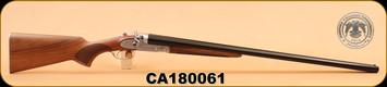 """Huglu - 201HRZ - 12Ga/3""""/30"""" - Wd/Bl - M.Choke, Silver Receiver S/N CA180061"""