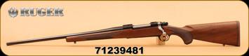 """Ruger - 30-06Sprg - M77 - Hawkeye,  Walnut/Bl, 22"""", LH"""