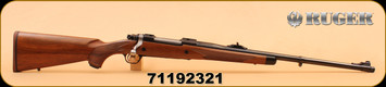 """Consign - Ruger M77 - 300Win Mag - Hawkeye African, Muzzle Brake & Cap, Wd/Bl, 23"""""""