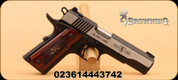"Browning - 1911-380 Black Label Medallion Pro - 380ACP, 4.25"", Rosewood Grips"