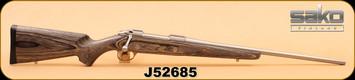 "Consign - Sako - 85M - 270Win - BlkLam/SS, 23"", c/w Optilox rings/bases"