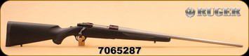 """Consign - Ruger - 25-06 Ackley Improved -  M77 Tang Safety, Blk McMillan Stock, 26"""" Stainless Shilen Barrel, Ext. Rings"""