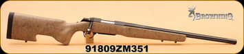 "Consign - Browning - 223Rem - A-Bolt Varmint - 22"", Tan w/Blk Webbing/Bl"