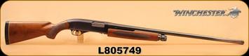 "Consign - Winchester - 12Ga/3""/30"" - Model 1200 - Wd/Bl, Fixed Full Choke, cracked buttstock"