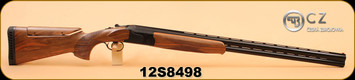 "Used - CZ - 12Ga/3""/30"", Sporting - Wd/Bl - New In Box"