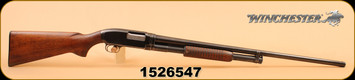 "Used - Winchester - 12Ga/2.75""/30"" - Model 12 - Wd/Bl, Full"