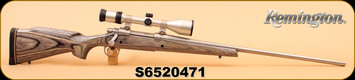 """Consign - Remington - 300Rem Ultra Mag - Model 700 - Lam/SS, 26"""", Zeiss Conquest 3-9x50 MC, Weaver bases"""