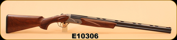 "Consign - Fabarm - 28Ga/2.75""/28"" - Axis - Wd/Bl, Hard case, 5 choke set"