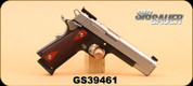 """Used - Sig Sauer - 45ACP - 1911 - Two-tone Match Elite, 2 Mags, Wd/Blk/SS, 5"""""""