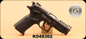 """Used - Grand Power - 9mm Luger - K100 X-Trim - Blk/Bl, 4.3"""", 4 spare mags, Fobus Double Mag Pouch"""