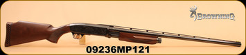 """Used - Browning - 12Ga/2.75""""/30"""" - BPS Field Model - Invector Plus - Wd/Bl"""