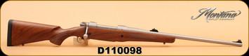 "Montana Rifle Company - 416 Rigby - Model 1999 Professional Hunter DGR-SS - Wd/SS, 24"""