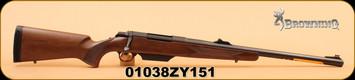 "Browning - A-Bolt - 12Ga/3""/22"" - Shotgun Hunter - Walnut/Bl - Light scratch on left forestock"