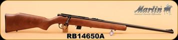 "Marlin - 22LR - XT-22 - Wd/Bl, 22"", S/N RB14650A"
