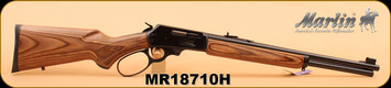"Marlin - 30-30Win - 336BL Big Loop Carbine, Lever Action, Walnut/Bl, 18.5"" S/N MR18710H"