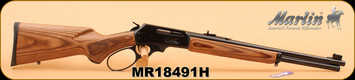"Marlin - 30-30Win - 336BL Big Loop Carbine, Lever Action, Walnut/Bl, 18.5"" S/N MR18491H"