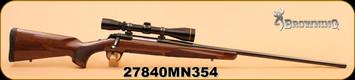 "Consign - Browning - 7mmRemMag - X-Bolt Medallion, Wd/Bl, 26"", Leupold VX-II 3-9x40, Duplex, Leupold Standards"