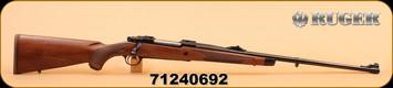 """Ruger - 6.5x55Swedish - M77 - Hawkeye African - Wd/Bl, 24"""""""