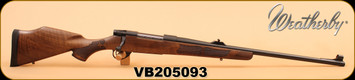 "Weatherby - Vanguard Safari - 375 H&H - European Walnut/Bl, 24"", Two-Stage Adjustable Trigger"