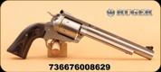 """Ruger - Super Blackhawk - 44 Magnum/44 Special - Bisley Hunter - Blk Lam/SS, 7.5"""""""