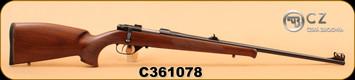 "CZ - 527 Lux - 22 Hornet - Wd/Bl, 23.5"" cold hammer forged barrel, S/N C361078"