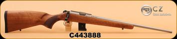 """CZ - 455 - 17HMR - Wd/SS, 20"""", 10 Round"""