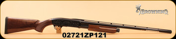 "Browning - 12Ga/3""/28"" - BPS Medallion - Wd/Bl, Invector Plus"