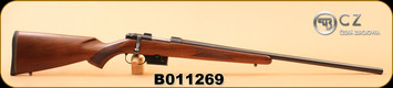 "Consign - CZ - 527 Varmint - 204Rug - Wd/Bl, 26"" in original box"