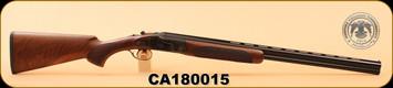"""Huglu - 103F - 28Ga/2.75""""/26"""" - Wd/Bl/Case Coloured Receiver, M.Choke, S/N CA180015"""