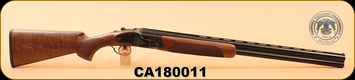 """Huglu - 103F - 12Ga/3""""/28"""" - Wd/Bl/Case Coloured Receiver, M.Choke, S/N CA180011"""