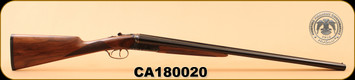 """Huglu - 202B - 12Ga/3""""/28"""" - Wd/Bl, Case Coloured Receiver - S/N CA180020"""