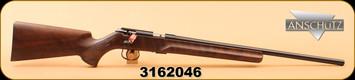 "Anschutz - 1416D HB - 22LR - Single Stage Trigger, Classic Beavertail Stock/Blued Finish, 23"" Heavy Barrel, S/N 3162046"