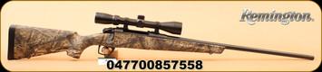 "Remington - Model 783 - 7mm Rem Mag - Mossy Oak Breakup/Bl, 24"" c/w 3-9x40 Scope"