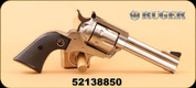 """Consign - Ruger - 44S&W Special - New Model Blackhawk Flattop - Limited Production - Blk Grips/SS, 4 5/8"""""""