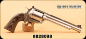 """Consign - Ruger - 45 Colt - Super Blackhawk Bisley Hunter - Blk Lam Grips/SS, 7.5"""""""