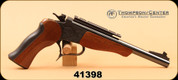 """Consign - Thompson Center - 44Mag - Contender - Wd/Bl, 10"""" Bull bbl - Frame & Barrel can be sold seperately"""