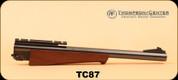 "Consign - Thompson Center - 7MM T/CU - Super 14 - 14"" Bull Barrel, Wd/Bl"