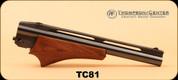 "Consign - Thompson Center - 44Mag Shot - 10"" Bull Barrel, Wd/Bl, Item#81"