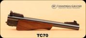 "Consign - Thompson Center - 7MM T/CU - 10"" Bull Barrel, Wd/Bl, Item#70"