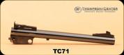 "Consign - Thompson Center - 7MM T/CU - 10"" Bull Barrel, Blued, Item#71 - Barrel only"