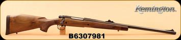 """Consign - Remington - 458 Win Mag - Model 700 Safari Grade, Wd/Bl, 24"""" - New in original box"""